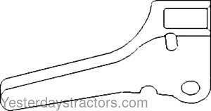 Massey Ferguson 65_Brake Pedal Lock_181960M1