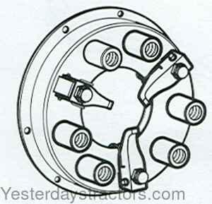 Massey Ferguson Clutch-Pressure Plate