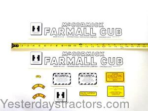 Farmall Cub Decal Set IHCCUB-LATE