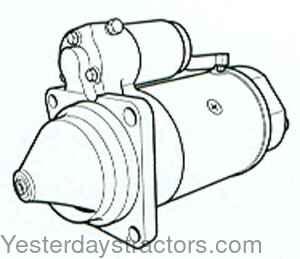 Starter-Standard Oliver Sel Tractor Wiring Diagram on