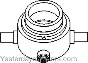 Oliver White 2 62 Clutch Bearing Carrier 303057364