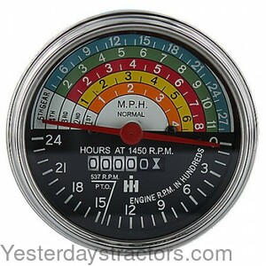 Tachometer, Gas and LP