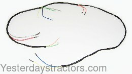 farmall 300 wiring harness main assembly 366839r91