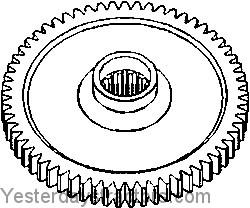 farmall 1066 gear  pump drive