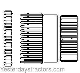 79020 Torque Amplifier Gasket Kit International 706 756 766 786 806 826 856 886