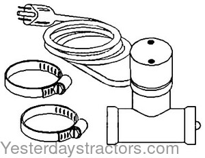 discount tractor parts and manuals for older and antique tractors Farmall H Wiring Diagram for 12V part no 5b15 43 88