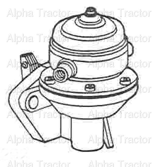 John Deere 1020 Fuel Pump