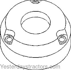 Allis Chalmers 180 Brake Friction Plate 70237215