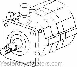 Allis Chalmers D17 Power Steering Pump - 70240066