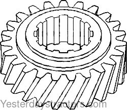 allis chalmers tractor gear yesterday s tractors C Farmall Distributor Cap Wire Diagram