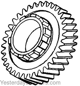 70255333 Second Mainshaft Gear 70255333