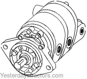 Allis Chalmers 175 Hydraulic Pump 70256067