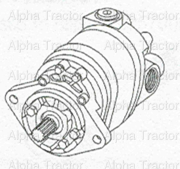 allis chalmers 200 hydraulic schematic