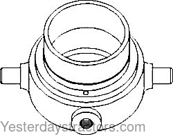 Oliver 1800 Clutch Bearing Carrier 72160064