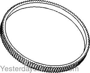 Massey Ferguson 1100 Flywheel Ring Gear