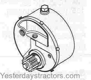 Massey Ferguson 240 Power Steering Pump 773126M92