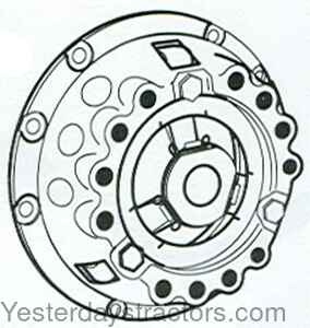 87801 Clutch-Pressure Plate with Thrust Plate 8780-1