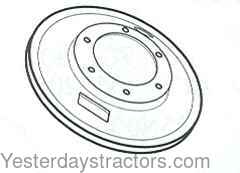 Ford NAA Brake Backing Plate 8N2255