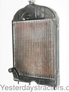 Wm N R on Radiator For Ford 8n Tractor