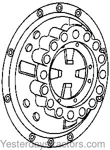 Ford 4000_Pressure Plate And Cover_C5NN7563Z