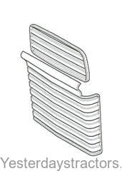 Ford 3000_Grill Assembly Front_C5NN8A163A