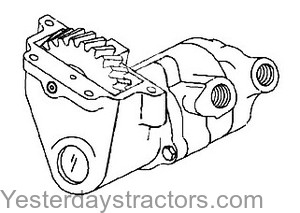 Ford 335_Hydraulic Pump_D6NN600A