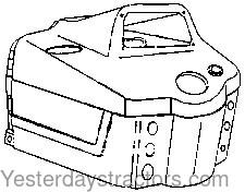 Ford 6600_Instrument Panel_D8NN16948DB