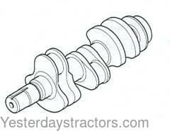 ford tractor crankshaft yesterday s tractors 1953 Ford Jubilee Radiator