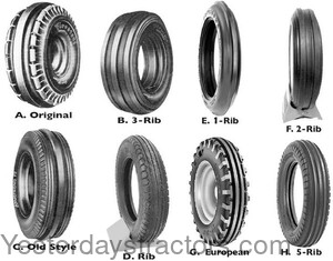 FRONT Front Tractor Tires FRONT_TIRES