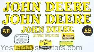 John Deere AR Decal Set JDAR1