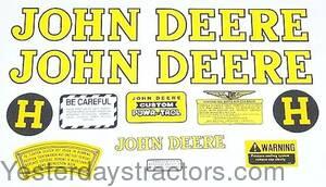 John Deere H Decal Set JDH  sc 1 st  Yesterdayu0027s Tractors & John Deere H Decal Set - JDH