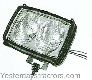 Ford NAA Halogen Work Light-Double Bulb L982-12V