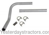 Exhaust Pipe Compatible with Ford 501 800 700 4000 600 2000 900 NAA