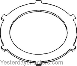 John Deere 1010 Steering Clutch Disc M872T
