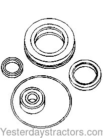 discount tractor parts and manuals for older and antique tractors Farmall Super C Magneto Timing part no n158563 39 66