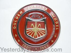 Ford Hood Emblem For Jubilee For Ford Jubilee Naa Naa16600a border=