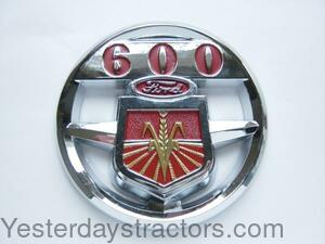 1939-1947 R0646 Ford Tractor 2N 9N Front Hood Emblem Two Piece Set