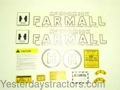 Farmall H Decal Set IHCH