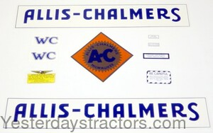 ACWC Decal Set ACWC