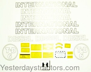 IHCTD6 Decal Set IHCTD6