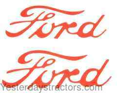 Ford 8N Decal R2006