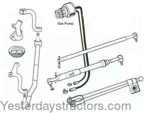 ford 800 power steering conversion kitFord Tractor Power Steering Conversion Kit 4 Cylinder Tractors #9