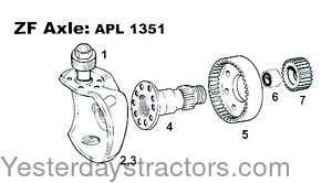S67164 Axle Planetary Gear S.67164