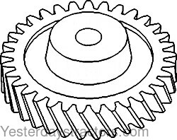 John Deere 2040 Oil Pump Drive Gear T20298