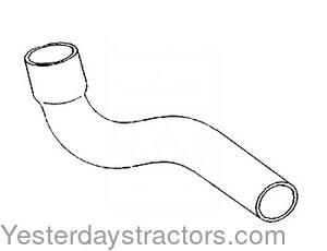 John Deere 4640 Radiator Hose Lower R53142