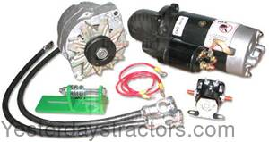 John Deere 3010 12 Volt Conversion Kit TS-8000