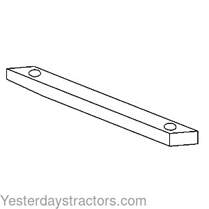 "886163M1 Long Drawbar Pin 3//4/"" x 11 1//2/"" Useable Fits Massey Ferguson Tractor"