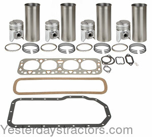 BIFH1155A Basic In-Frame Engine Kit with Stepped Head Pistons BIFH1155A