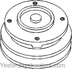 Ford NAA Water Pump Pulley EAF8509A