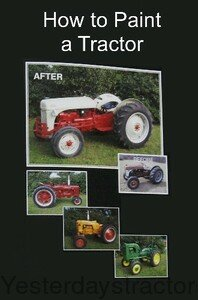 JDV02250 44 Minute DVD - How to Paint a Tractor JDV-02250
